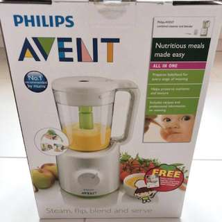 (reserved) Philips Avent 2-in-1 healthy baby food maker/ Blender