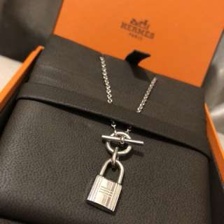 Hermes kelly 925 necklace authentic