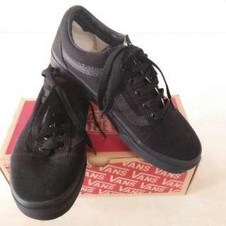 Vans Old Skool Black/Black ORI (reprice)