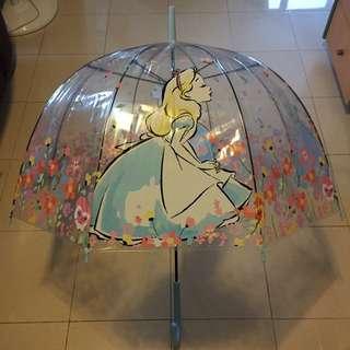 7-11 愛麗絲 夢遊仙境 透明 長雨傘 長雨遮