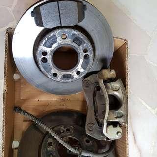 KIA forte / koup Original front braking system