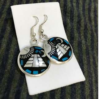 Mexican sterling silver earrings