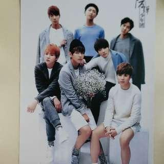 BTS Poster 防彈官方海報