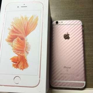 iPhone6s 玫瑰金 64gb