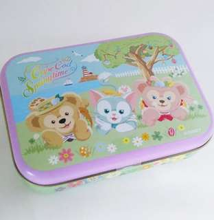 2015 Tokyo Disney sea duffy Sheillimay Gelatoni 糖盒