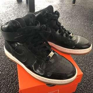 Nike Black High Cut Sneakers