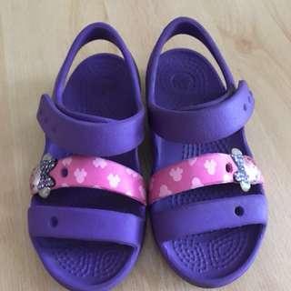 Crocs Minnie Mouse Purple Sandal