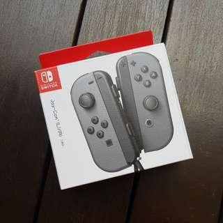 Switch Joy Con (Grey) BNIB