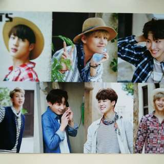 BTS Poster 防彈官方海報 Dubai Summer Package 2016