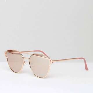 South Beach pink sunglasses