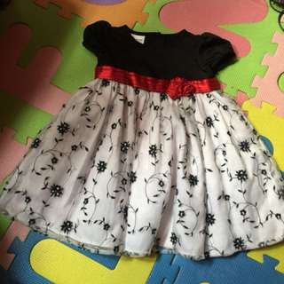Baby dress once used 1-2 years old