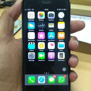 Iphone 6 16gb (space gray) murah!!!!