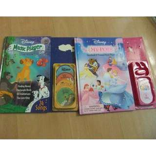 Disney Story Book  - 2 books 1 price.