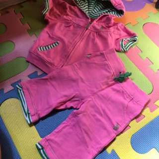 Baby sets for 1-2 years old pants & jacket terno