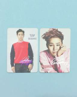 BIGBANG  Yes Card