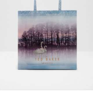 Ted Baker Sparkling Swan Large Shopper Bag