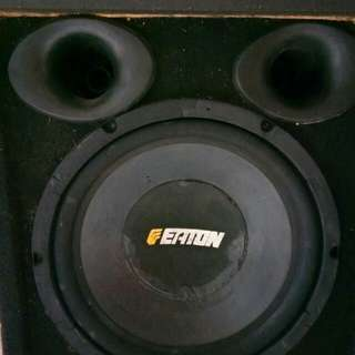 Subwoofer + Power Rakitan