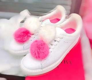 🈹🈹Zara white shoe (39)💜💜💜