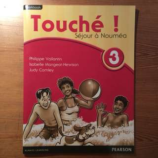 BRAND NEW Touché FRENCH WORKBOOK