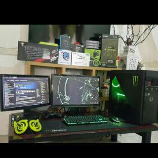Gaming PC Set | i7-4790 | PALIT GTX SJS 1060 6GB