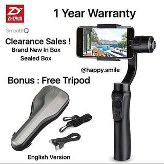 CNY Sales Last 2 Units Now ! Zhiyun Smooth Q
