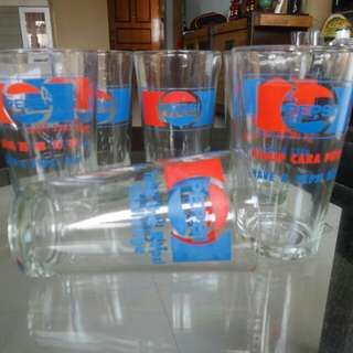 Pepsi Cola glasses