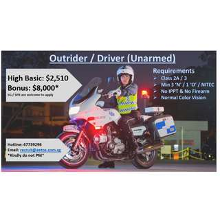 Outrider (Unarmed)