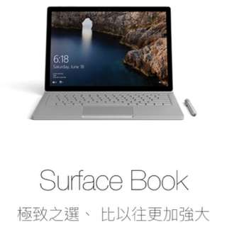 Surface book 第一代
