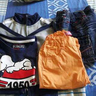 Short..jacket..t shirt take all 300