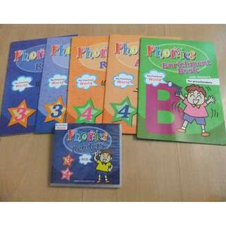 Phonics Enrichment Book with Stickers for Preschoolers