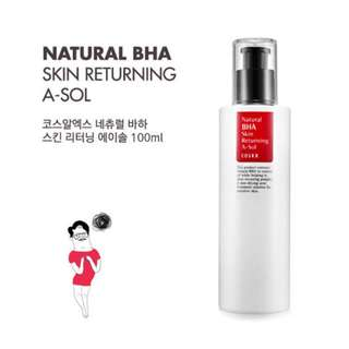 $14.20 [FREE SAMPLE] COSRX Natural BHA Skin Returning A-Sol 100ml