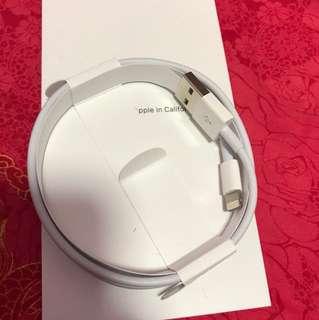 全新 IphoneX 原裝充電線