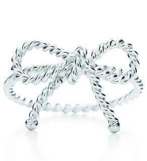 Tiffany & Co twist bow ring