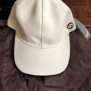 Gucci 男女 M58 白色鴨咀帽