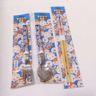 Disney frozen 日本小孩餐具