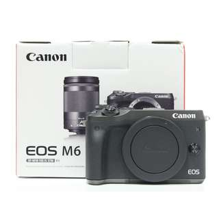 BRAND NEW CANON EOS M6 BODY ONLY