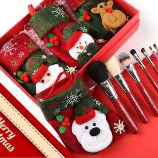 Christmas gift set! Pocket makeup brush set