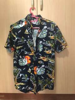 UNISEX Hawaiian themed shirt