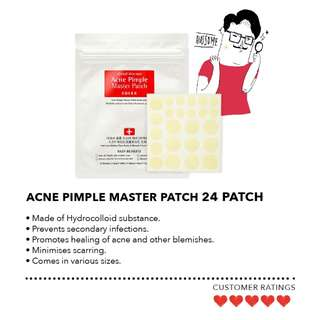 Cosrx Acne Pimple Master Patch x2