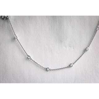 Silver Bracelet w/ Crystal