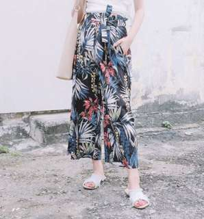 Tropical Prints loose pants