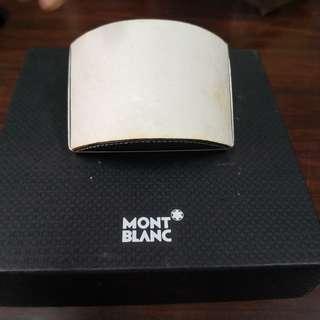 Mont Blanc ink blotter