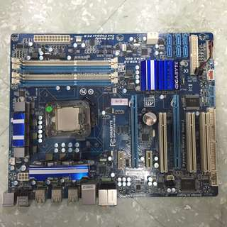 GAMING MOTHERBD GA-P55A-UD3 WITH CORE I5 PROCESSOR