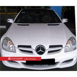 Mercedes-Benz SLK-Class SLK200 ML (COE till 04/2026)