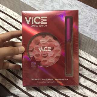 VICE BLOCKBUSTER LIPSTICK LIMITED EDITION