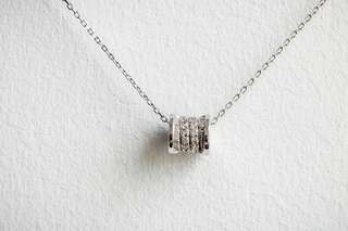 Swarovski Silver Necklace