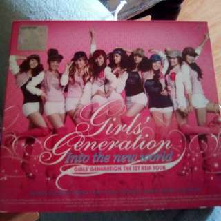 snsd girls generation live double cd