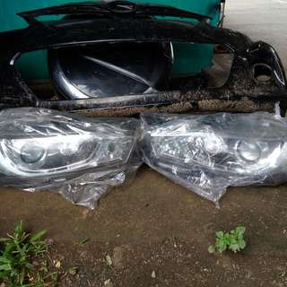 Headlamp yaris 2014-2017