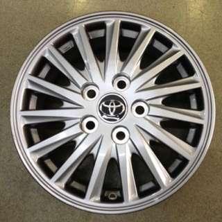 "15"" 5x114 toyota new car wheel 1 set 4pc $250"