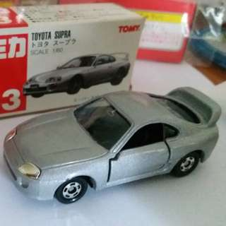 Tomica Tomy Tomy車 no 33 號 1:60 Toyata Supra 豐田